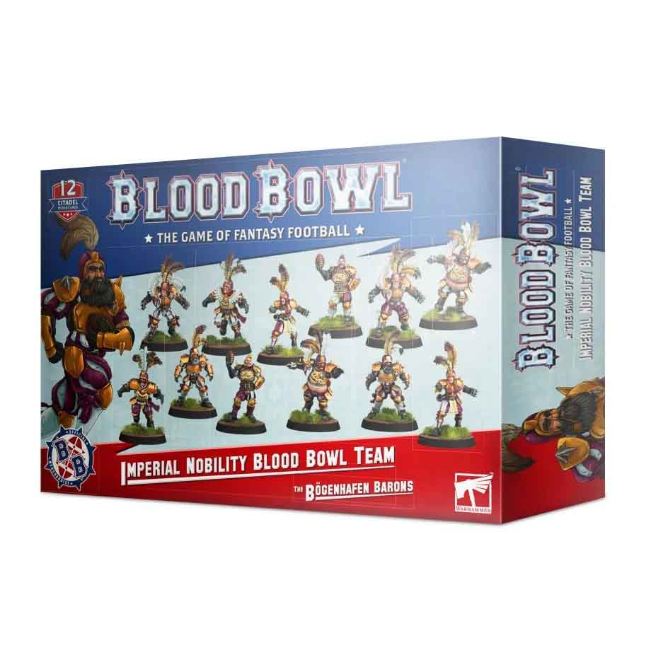 Imperial-Nobility-Team für Blood Bowl: The Bögenhafen Barons