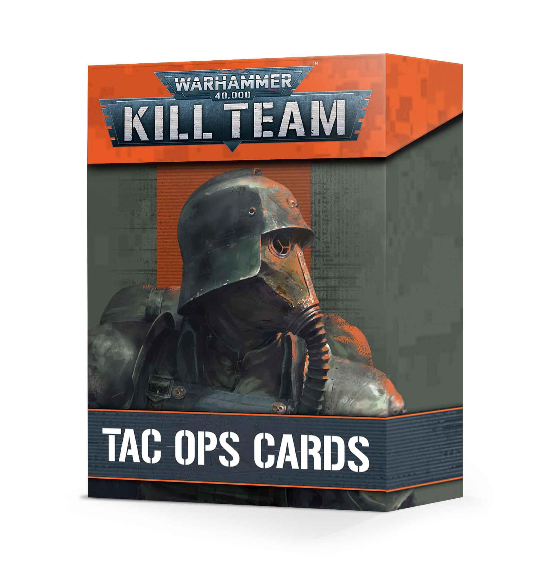 Kill Team: Tac Ops Cards (Englisch)