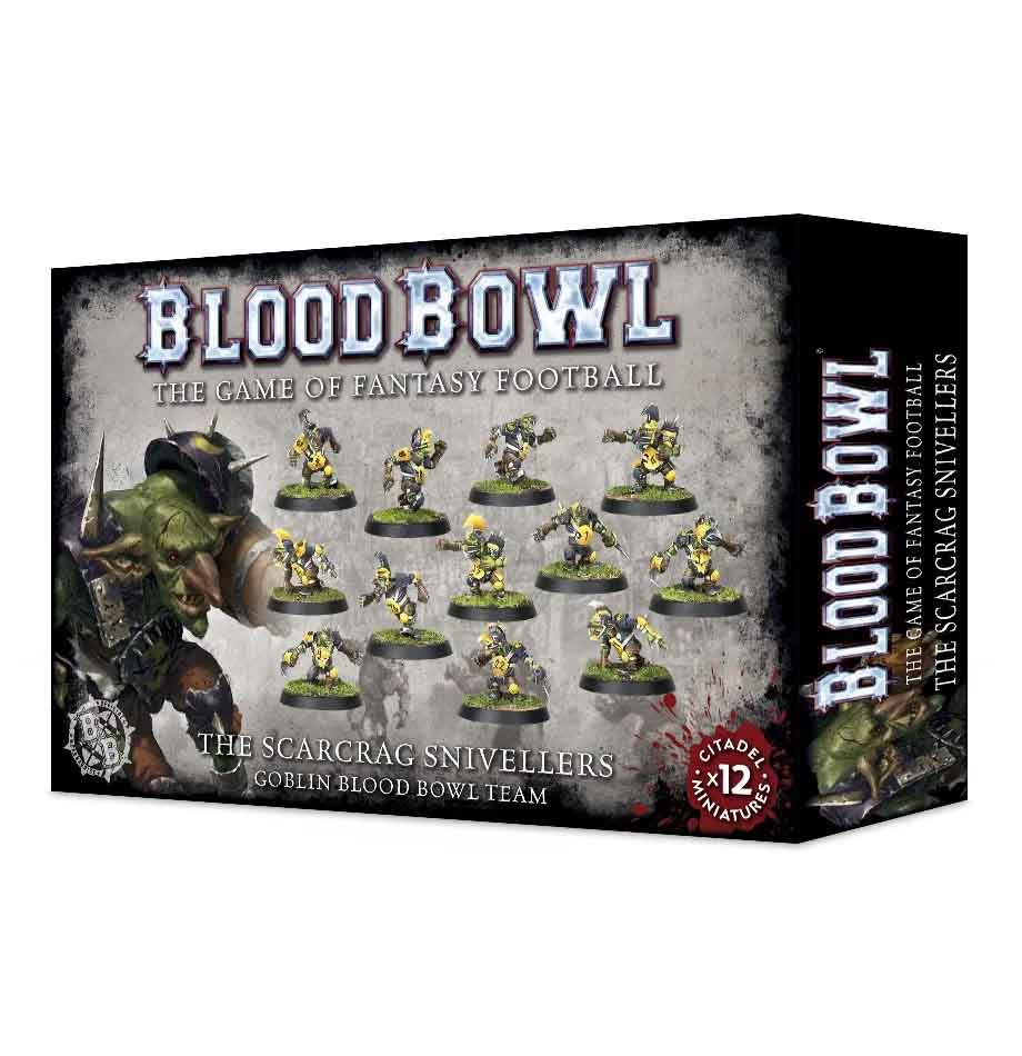 The Scarcrag Snivellers - Goblin Blood Bowl Team