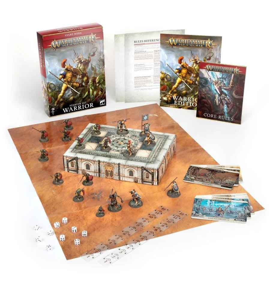 Kriegerbanner-Starterset für Warhammer Age of Sigmar