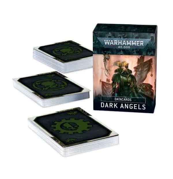 Datacards: Dark Angels (Englisch)