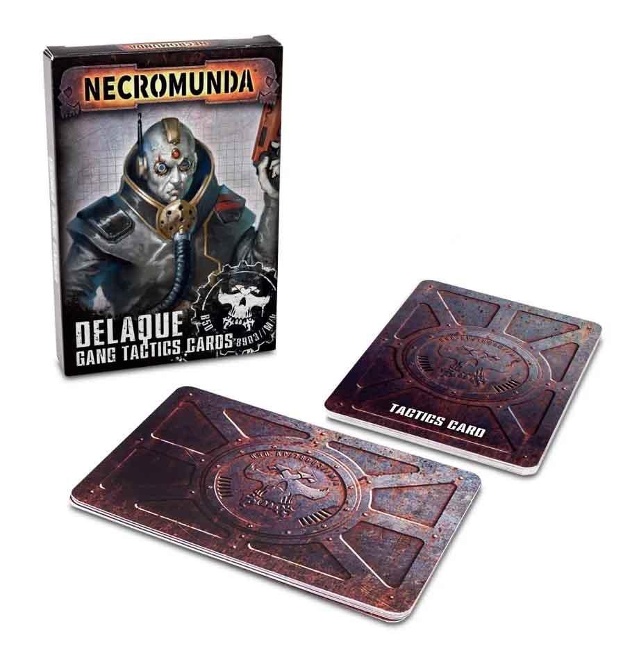 Necromunda: Delaque Gang Tactics Cards (Englisch)