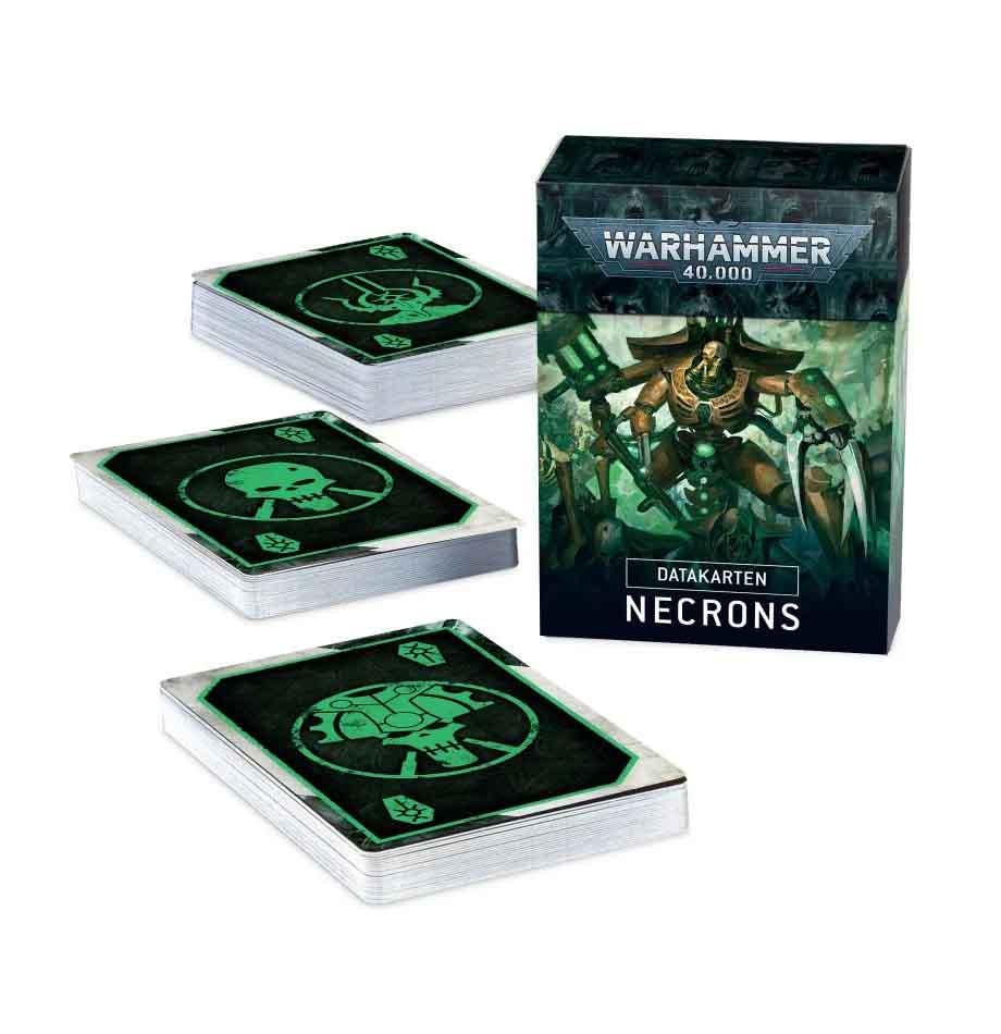 Datacards: Necrons (Englisch)