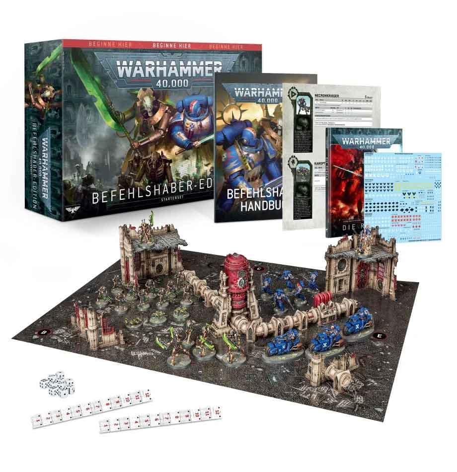 Warhammer 40.000: Befehlshaber-Edition (DEUTSCH)