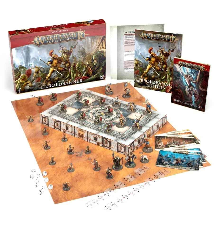 Heroldbanner-Starterset für Warhammer Age of Sigmar