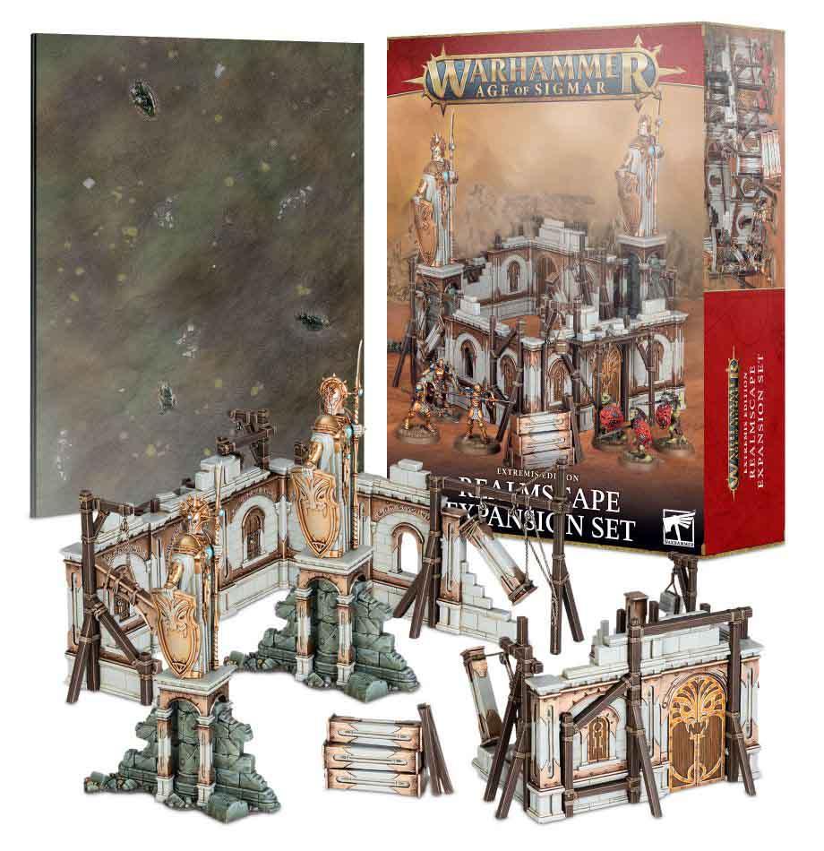 Warhammer Age of Sigmar: Drachenbanner – Reichslandschaften-Ergänzung