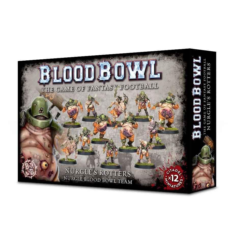 Nurgle's Rotters - Nurgle Blood Bowl Team