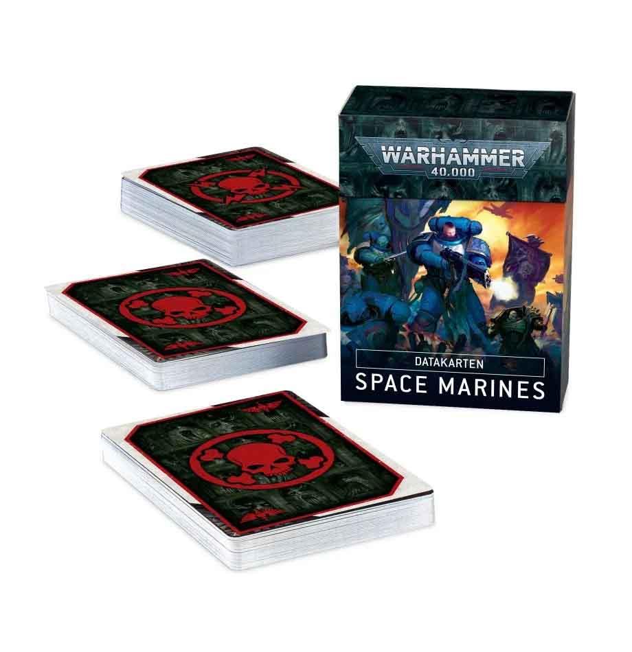 Datakarten: Space Marines  (Deutsch)