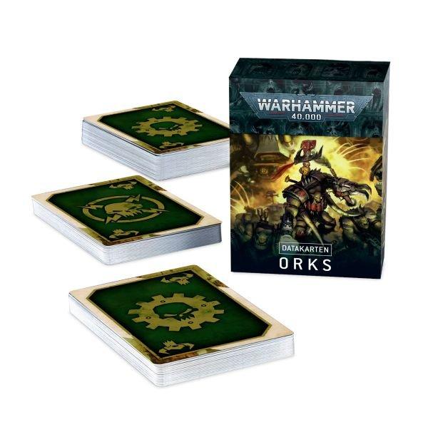 Datacards: Orks (Englisch)