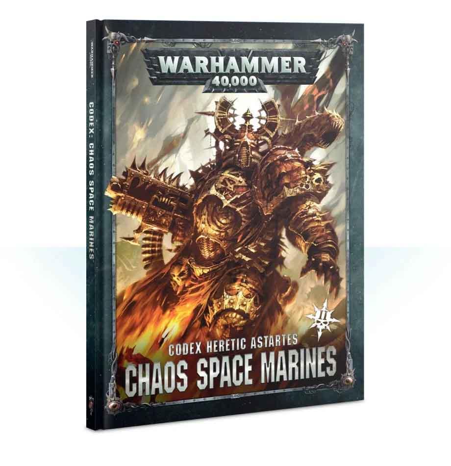 Codex: Chaos Space Marines (Englisch)