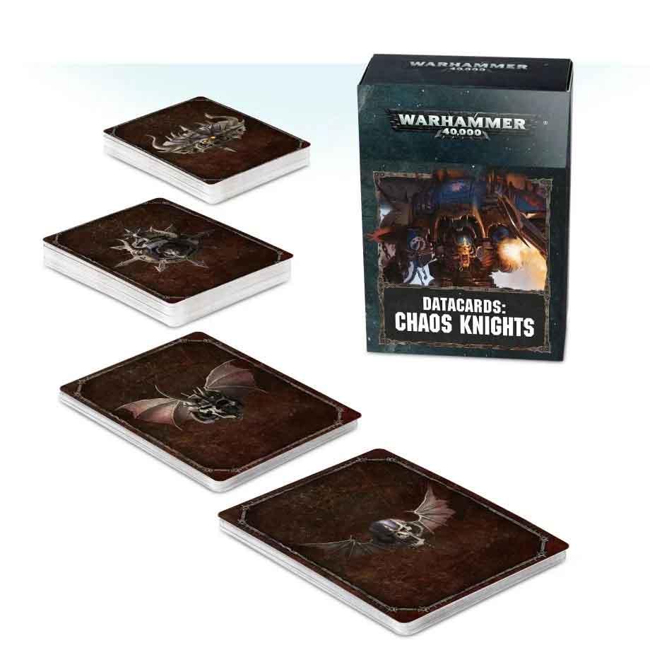 Datakarten der Chaos Knights (Deutsch)
