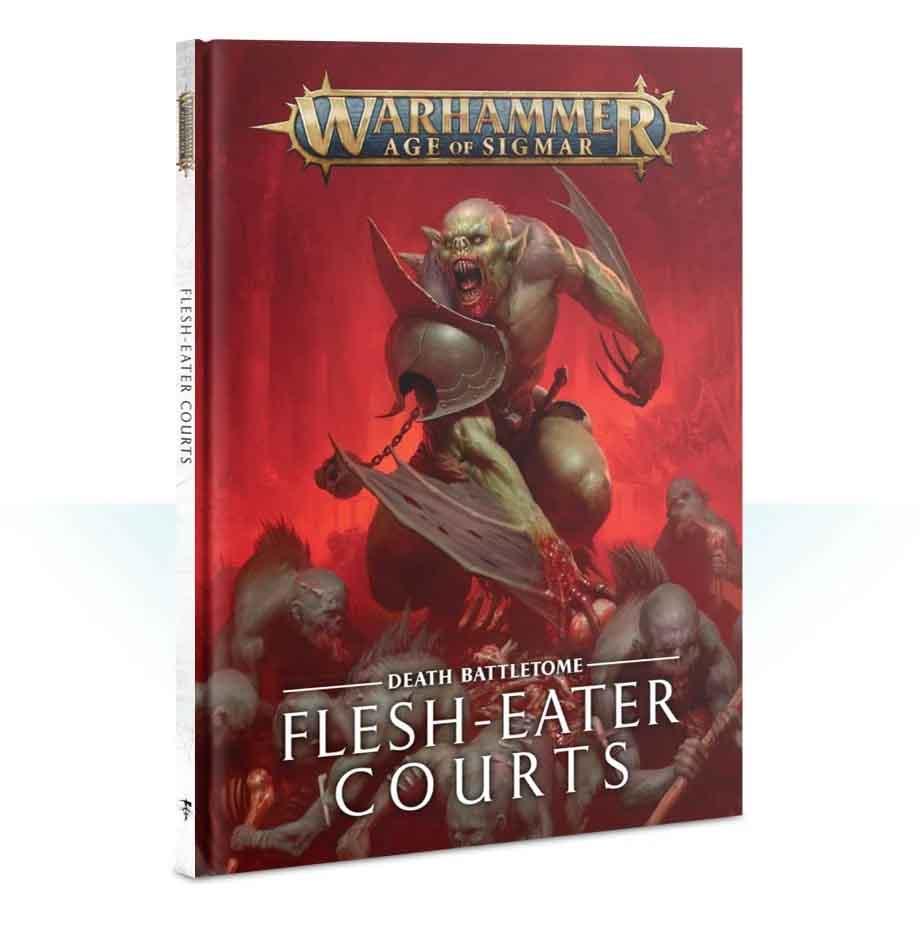 Battletome: Flesh-eater Courts (Englisch)
